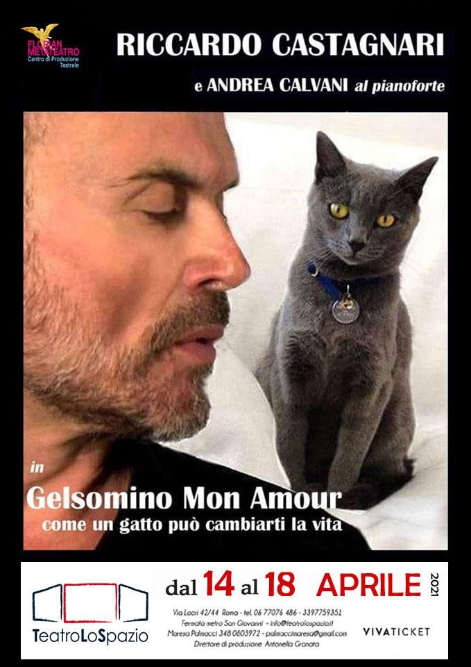 Gelsomino Mon Amour - TeatroLoSpazio - dal 15 al 18 aprile 2021 - Via Locri 42, Roma