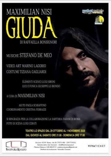 Giuda - TeatroLoSpazio - dal 29 ottobre al 1 novembre 2020 - Via Locri 42, Roma