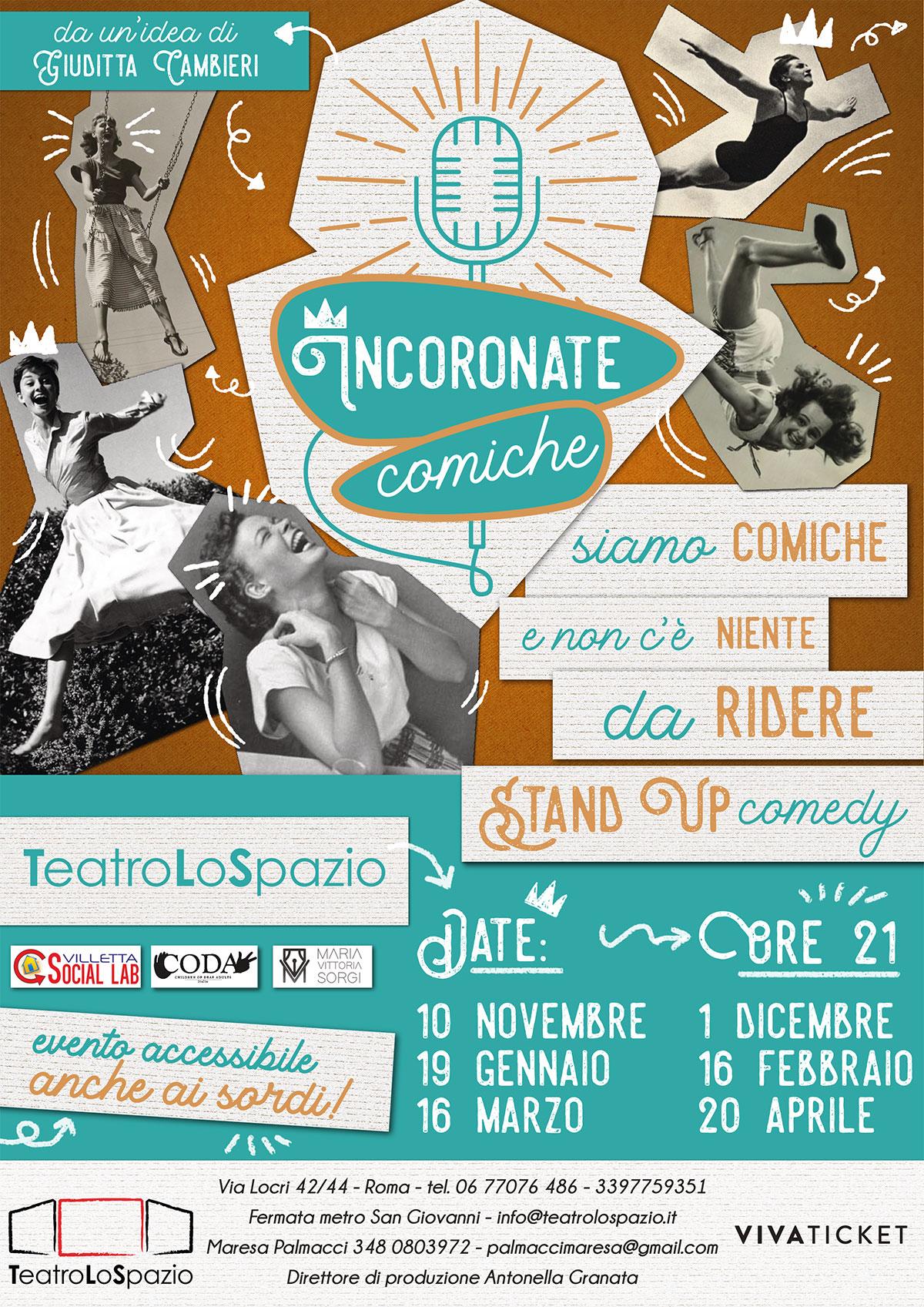 Incoronate Comiche - TeatroLoSpazio - Via Locri 42, Roma