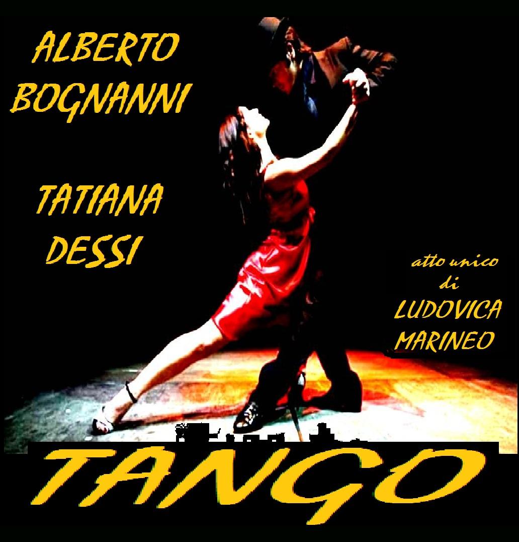 Tango - TeatroLoSpazio - dal 21 al 26 aprile 2020 - via locri 42 00183 roma - locandina