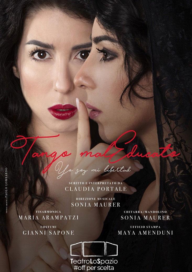 Tango maleducato - TeatroLoSpazio - dal 5 al 10 maggio 2020 - via locri 42 00183 roma - locandina