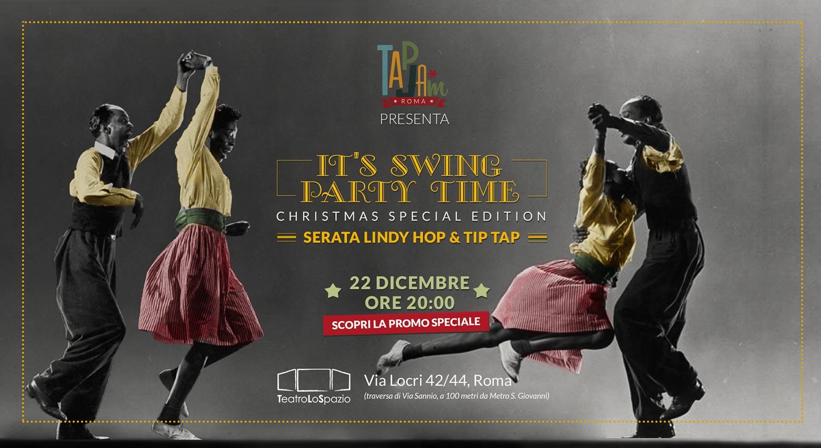 TapJam - TeatroLoSpazio - 22 dicembre 2019 - Via Locri 42 00183 - Roma
