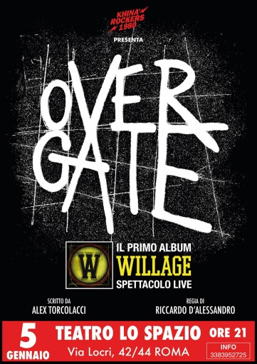 WillAge - TeatroLoSpazio - 5 gennaio 2020 - Via Locri 42 00183 Roma
