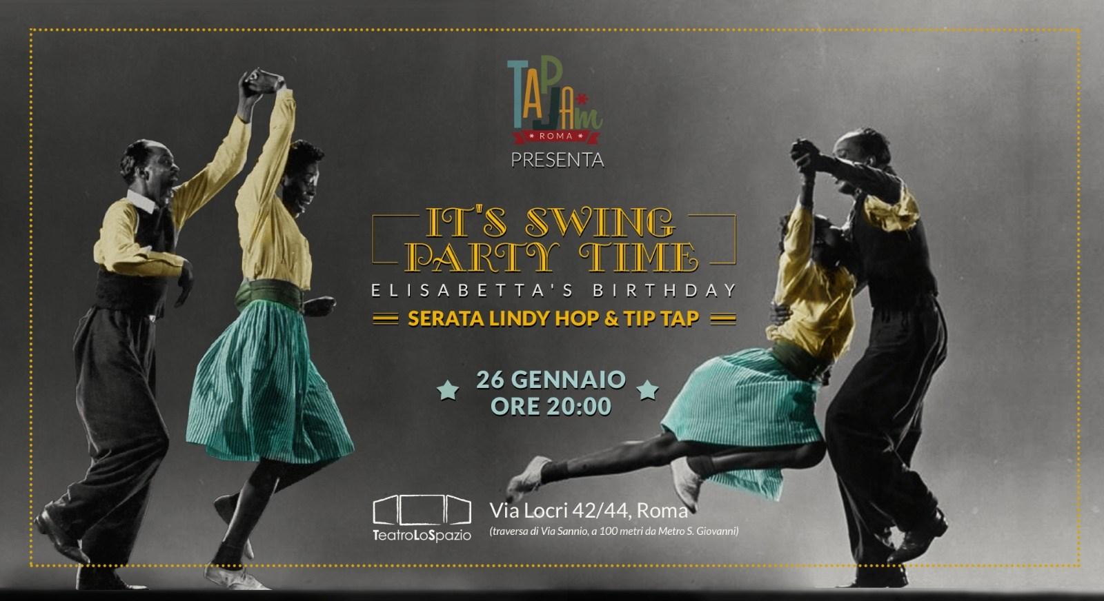 TapJam - TeatroLoSpazio - 26 gennaio 2020 - Via Locri 42 00183 - Roma