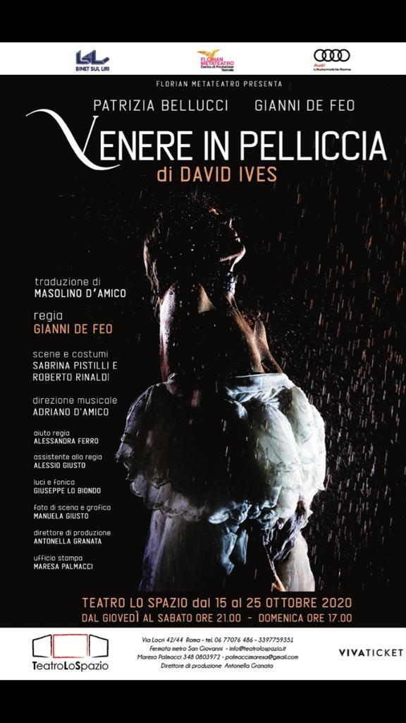 Venere in pelliccia - TeatroLoSpazio